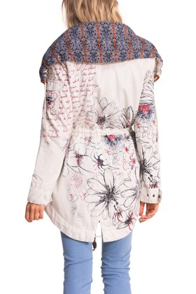 Desigual LAURA jacket (back) $264. Spring-Summer 2015 collection.