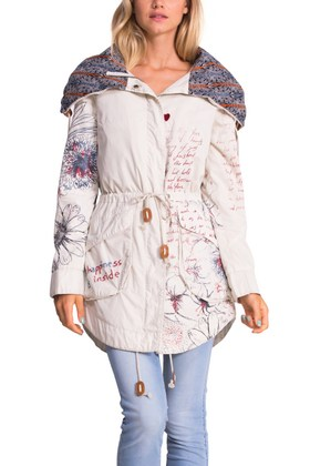 Desigual LAURA jacket.  $264. Spring-Summer 2015 collection.