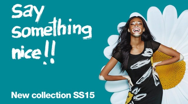 Canadian model Winnie Harlow is Desigual's new face for the Spring-Summer 2015 collection.