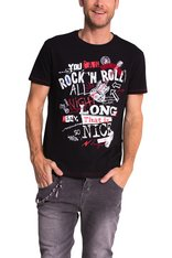 Desigual ROCK CAN ROLL tee shirt. $64. Spring-Summer 2015