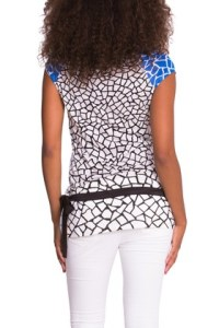This is the back of the Desigual NATALIE T-shirt. $84.