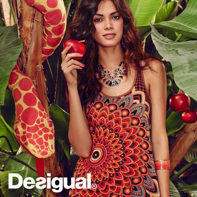 All Desigual is on sale at 20% off until Sunday