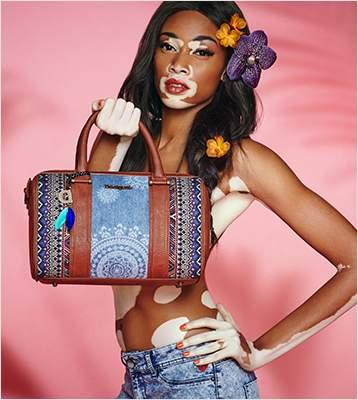 Desigual.MALTA.AFRICAN.ART.bag. $104.SS2015