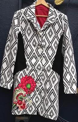 Desigual.Pilil coat.$249.SS2015