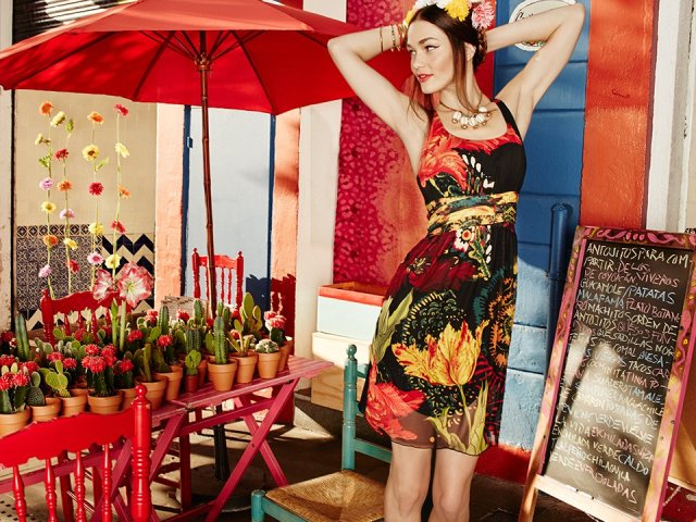 Desigual.FLORECILLA.dress.SS2015