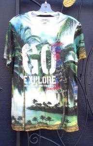 Desigual.GO.EXPLORE.Tshirt. $84.SS2015