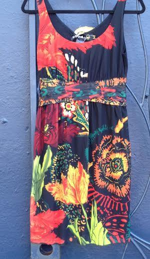 Desigual Lacroix Florecilla dress.Lacroix. $134.SS2015