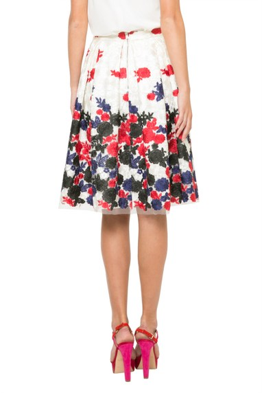 Back of Desigual LETICIA skirt by Christian Lacroix. $295.95. Spring-Summer 2016.