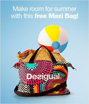 Desigual.Maxi.Bag.free.when.you.spend.$169