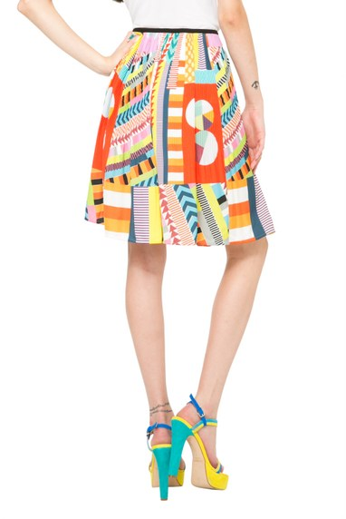 Coming soon: Desigual SOFIA skirt by Lacroix. $155.95. Spring-Summer 2016.