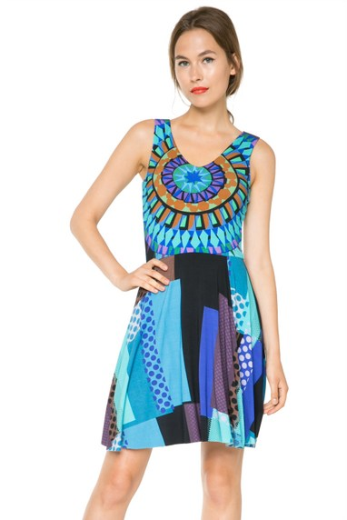 Coming soon: Desigual SUSANA dress by Lacroix. $139.95. Spring-Summer 2016.