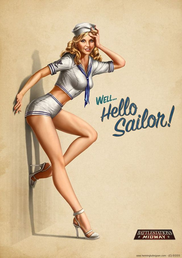 Pinup.Sailor
