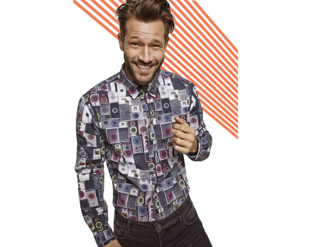 Desigual ALEX shirt. $109. Fall-Winter 2015.