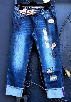 Desigual BOYFRIEND INDI jeans. $155. Fall-Winter 2015