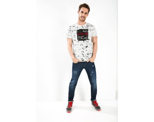 Desigual ETNO T-shirt. $65. Fall-Winter 2015.