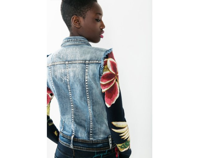 Desigual ETHNIC DELUXE jacket. $165. Fall-Winter 2015 collection.
