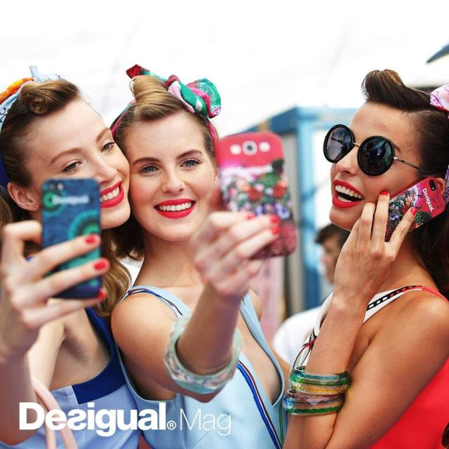 We have Desigual iPhone cases at Angel.