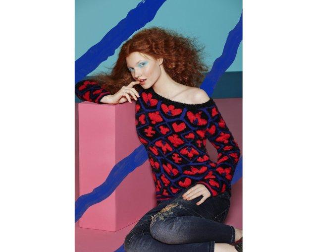 Desigual PULLOVER UID sweater. $125. Fall-Winter 2015.