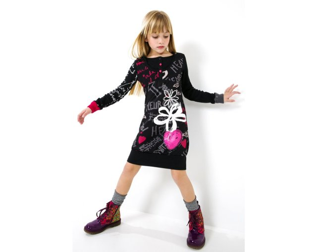 Desigual.Elaaiún.dress.kids.$86.FW2015