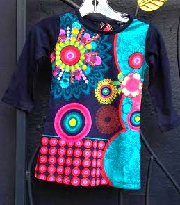 Desigual ELENA girls dress. $49. Fall-Winter 2015.