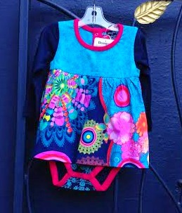 Desigual.Haizea.baby.dress.sleeper.$59.organic cotton.FW2015