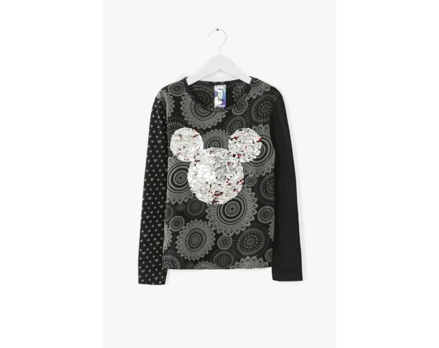 Desigual BURGUI kids T-shirt with reversible sequins. $59.95. Fall-Winter 2015. Desigual partnered with Disney on this shirt.