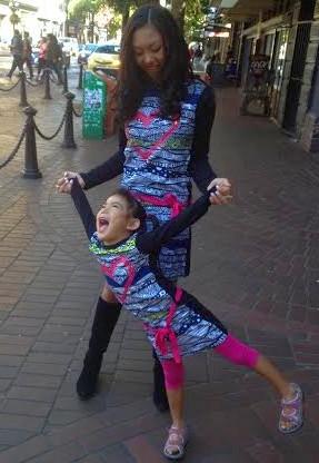 Shaolin.Shaiyen.matching.Desigual.kids.dresses.2