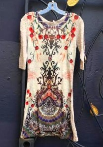 Smash Prose knit sweater dress.$104.FW2015