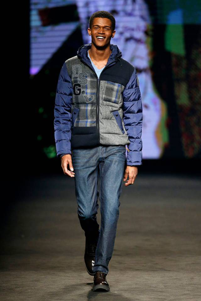 Desigual BLUE WAVE winter jacket for Fall-Winter 2015. $$309.