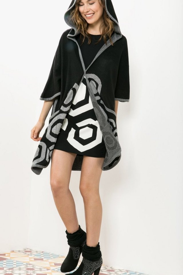 Desigual CAPE BERTO by Christian Lacroix. $235.95. Fall-Winter 2015.
