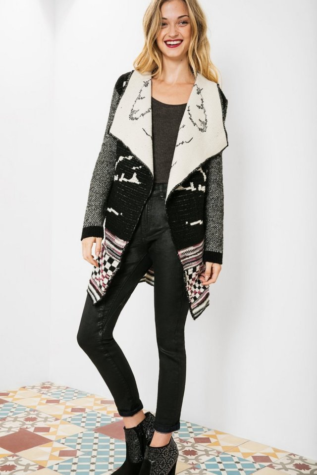 Desigual CARDIGAN DALIAS by Christian Lacroix. $219.95. Fall-Winter 2015