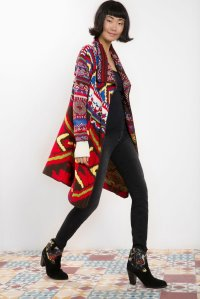 Desigual CARDIGAN GUADIX by Lacroix. Was $179. Now $126 (30% off) Fall-Winter 2015 collection.