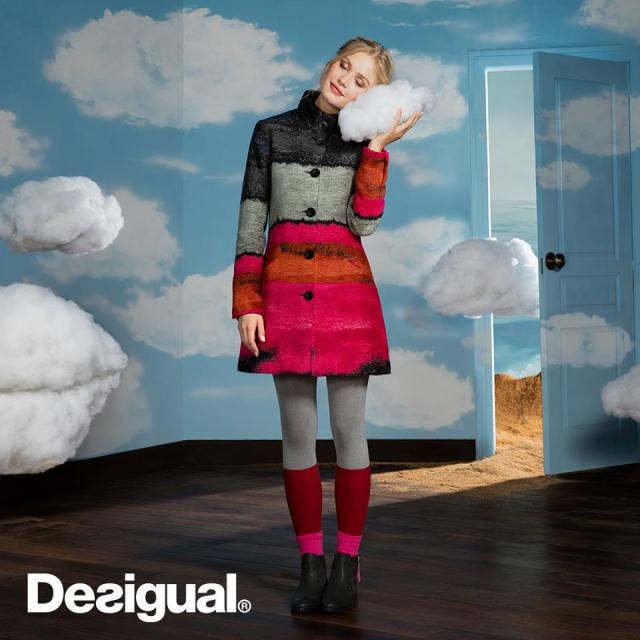 Desigual's new winter coats are dreamy.