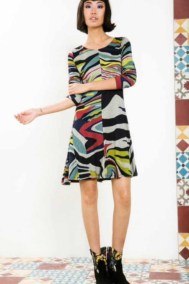 Desigual ONAMON dress by Christian Lacroix. $169.95. Fall-Winter 2015