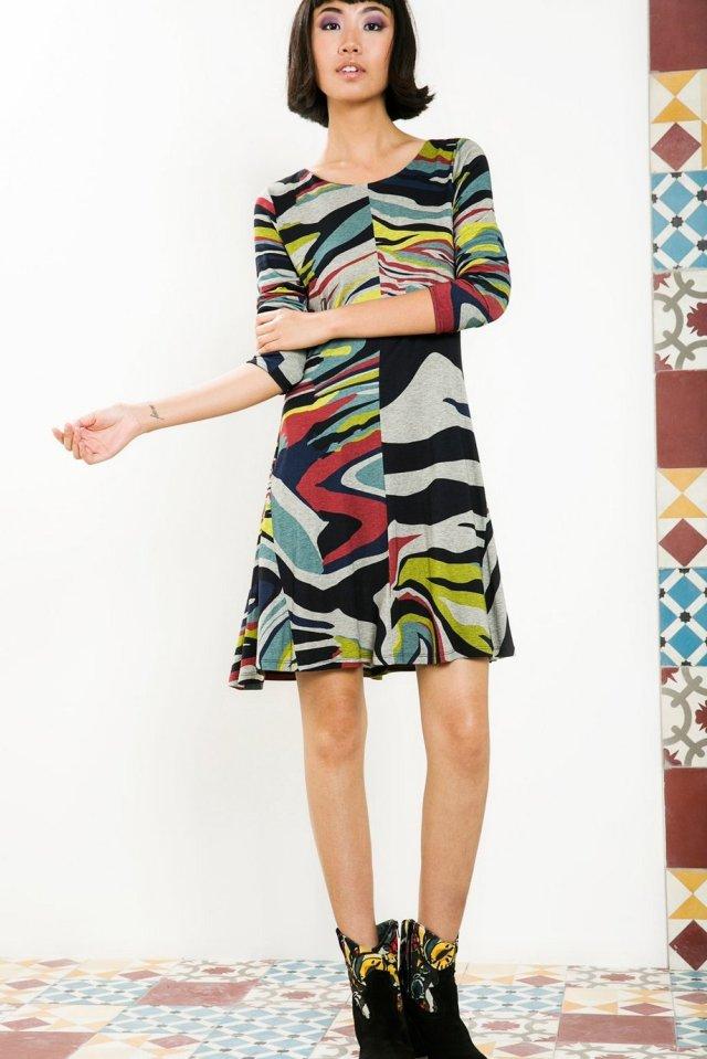 Desigual ONAMON dress by Christian Lacroix. $169.95. Fall-Winter 2015