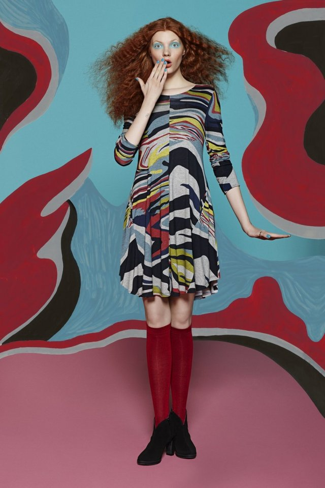 Desigual ONAMON dress by Christian Lacroix for Fall-Winter 2015. $169.95