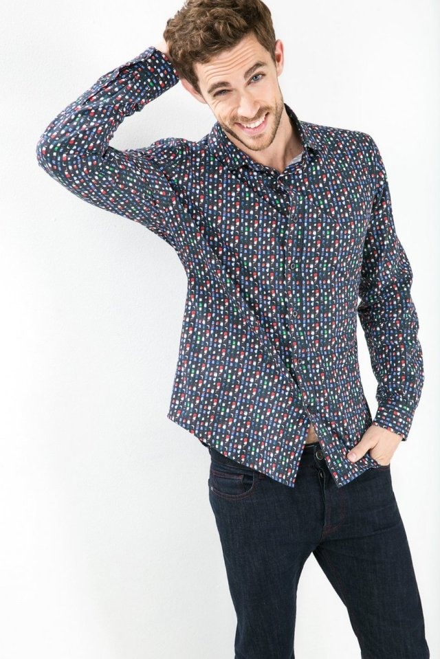 Desigual MANALOCO shirt. $109. Fall-Winter 2015.