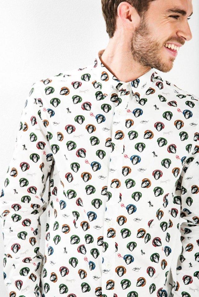 Desigual MONKIKI shirt for men. $109.95. Fall-Winter 2015