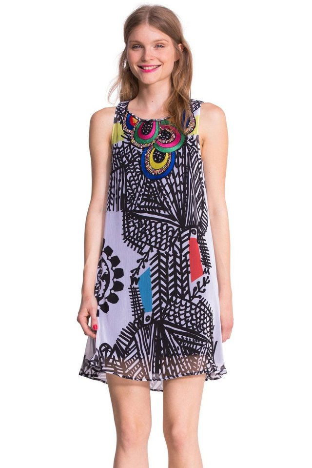 Desigual NATALIA dress by Lacroix. $164. Fall-Winter 2015.