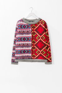 Desigual PULLOVER MEG by Christian Lacroix. $165.95. Fall-Winter 2015.