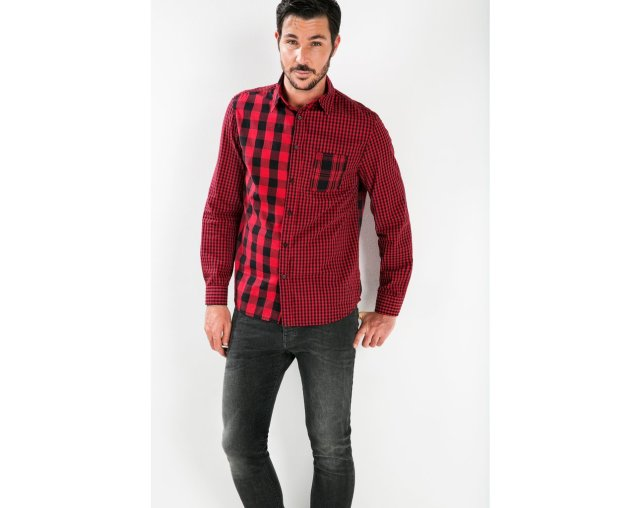 Desigual SALVA shirt for men, $126, Fall-Winter 2015.