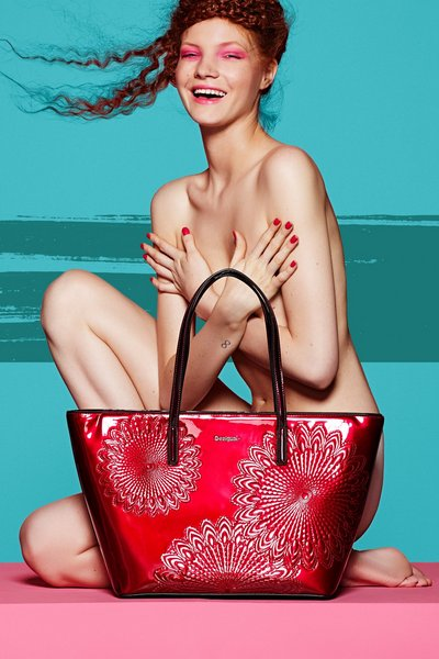 Desigual SAN FRANCISCO KATE shopping bag. Fall-Winter 2015