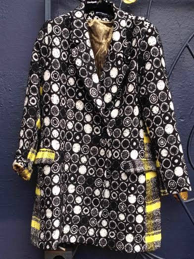 Desigual SWEET EMOTION overcoat. $425. Fall-Winter 2015. photo by angelvancouver.com
