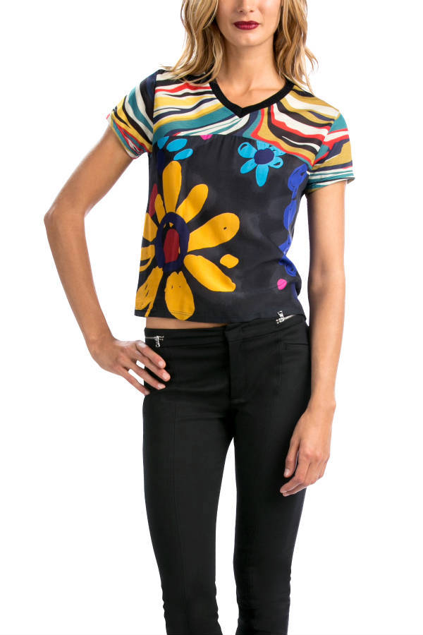 Desigual GARITE T-shirt by Christian Lacroix. $89.95. Fall-Winter 2015.