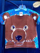 Angel kids bear shirt by Justine Brown. Fall 2015.