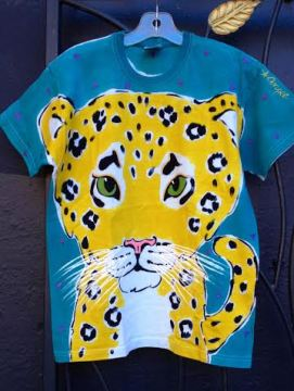 Angel kids leopard shirt by Justine Brown. Fall 2015. photo by angelvancouver.com