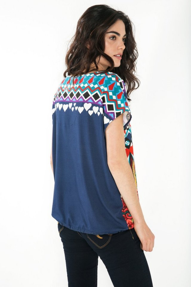Back of Desigual ADMES top. $89.95. Fall-Winter 2015.