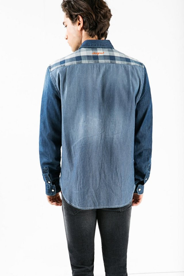 Back of Desigual DANI shirt, $135.95. Fall-Winter 2015