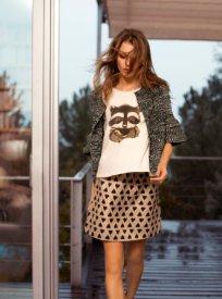 Compañía Fantástica HANTS skirt. $49. Fall-Winter 2015.