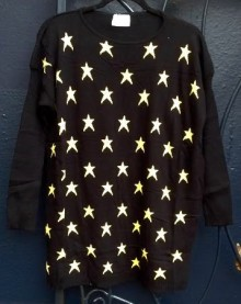 Compañía Fantástica STAR sweater. $72. photo by angelvancouver.com